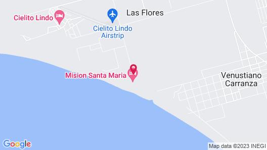 Hotel Mision Santa Maria Map
