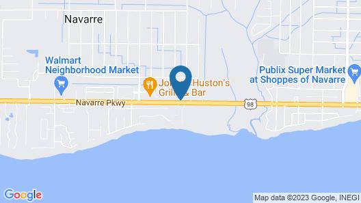 Hampton Inn & Suites Navarre Map