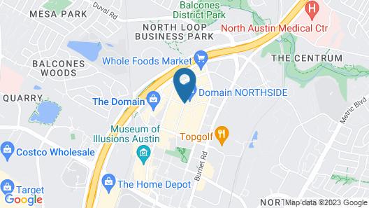 Archer Hotel Austin Map