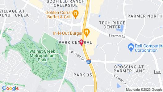 Hilton Garden Inn Austin North Map