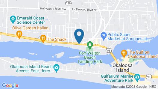 The Suites at Marina Bay Map
