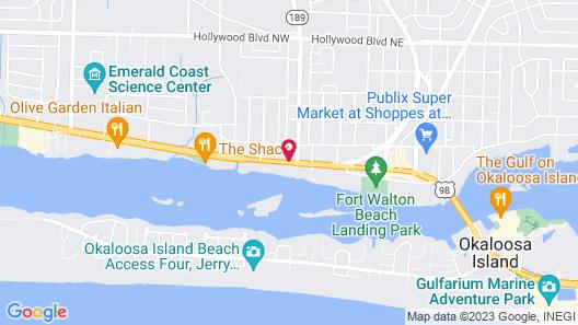 La Quinta Inn & Suites by Wyndham Fort Walton Beach Map