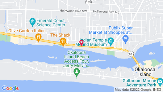 Sunset Houseboat Map