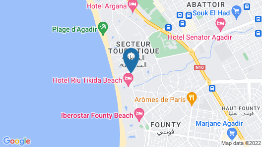 Labranda Les Dunes d'Or Map