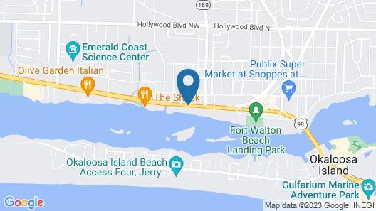 Harbor Houseboat Map