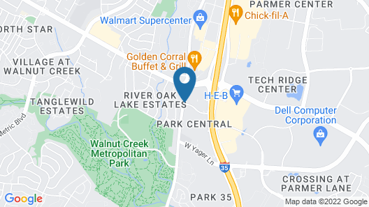 Residence Inn by Marriott Austin Parmer/Tech Ridge Map