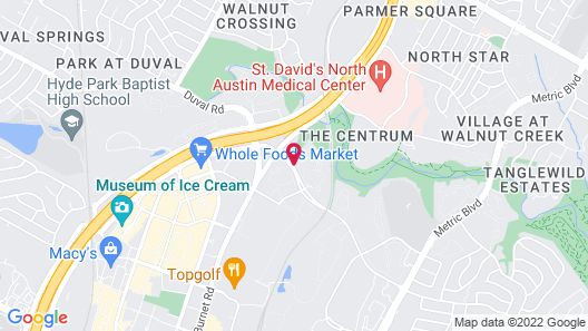 Extended Stay America - Austin - Northwest/Arboretum - The Domain Map
