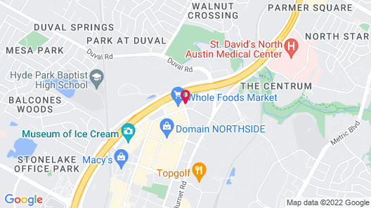 La Quinta Inn & Suites by Wyndham Austin Near The Domain Map