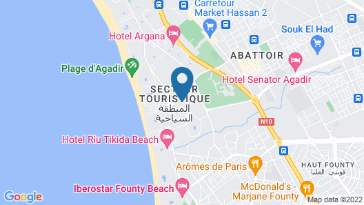 Hôtel Le Tivoli Map