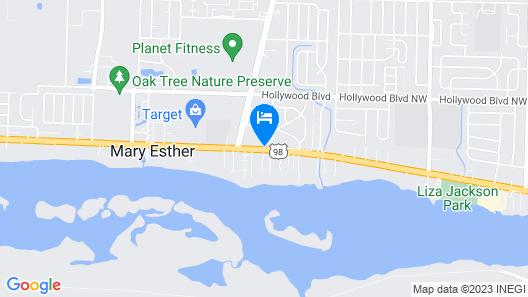 Baymont by Wyndham Fort Walton Beach Mary Esther Map