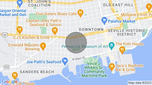 Downtown Oasis Built 2020 Map