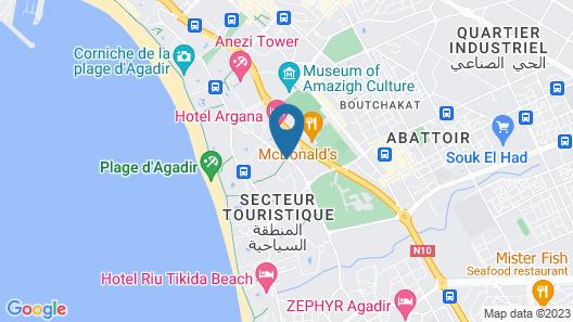 Caribbean Village Agador - All Inclusive Map