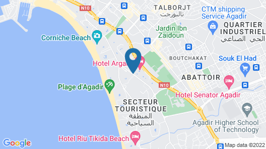 Mabrouk Hotel And Suites Map