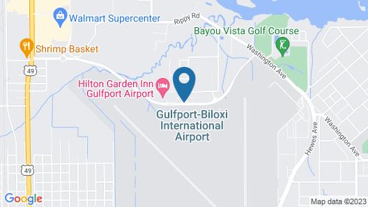 Hilton Garden Inn Gulfport Airport Map