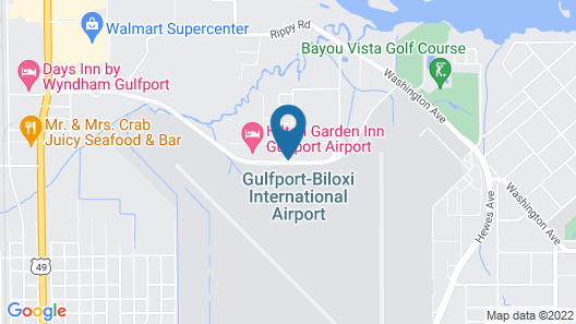 Residence Inn by Marriott Gulfport-Biloxi Airport Map