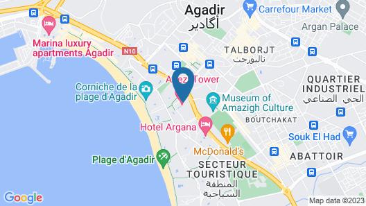 Anezi Tower Hotel Map