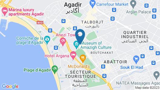 Hôtel Kamal City Center  Map