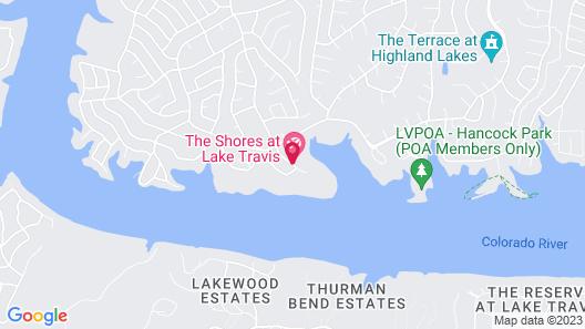 Vacation Villages at Lake Travis, a VRI resort Map