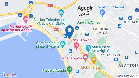 Royal Mirage Agadir Map