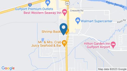 Days Inn by Wyndham Gulfport Map