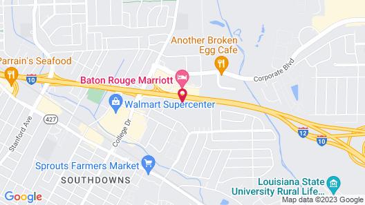 Holiday Inn Baton Rouge College Drive I-10, an IHG Hotel Map