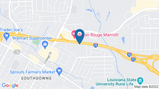 DoubleTree by Hilton Hotel Baton Rouge Map