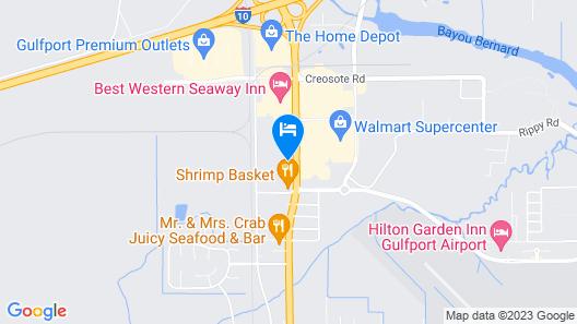 Best Western Seaway Inn Map