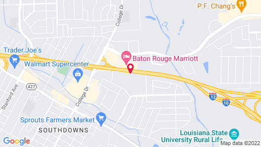 Embassy Suites Hotel Baton Rouge Map