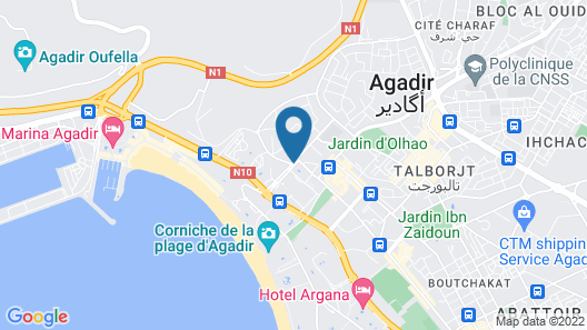 Bahia City Hotel Map