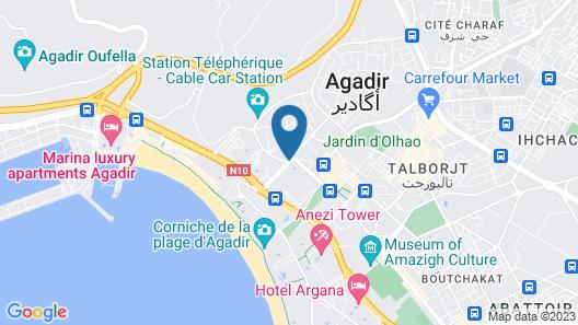 Bahia City Hotel Map