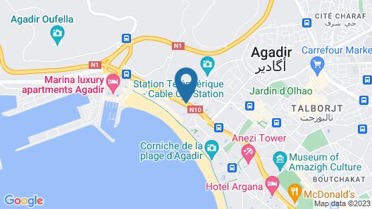 Hôtel Club Al Moggar Map
