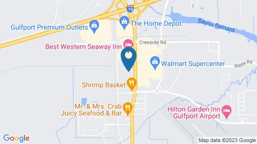 Super 8 by Wyndham Gulfport Biloxi Airport Map