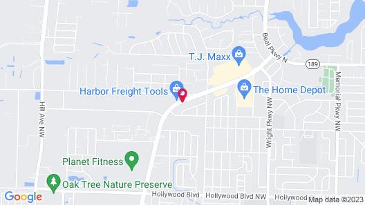 Holiday Inn Express & Suites Fort Walton Beach - Hurlburt Area, an IHG Hotel Map
