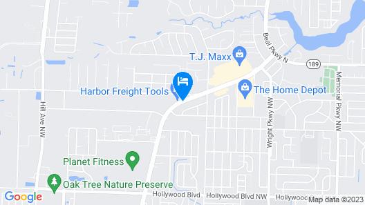 Holiday Inn Express & Suites Fort Walton Beach - Hurlburt Area Map