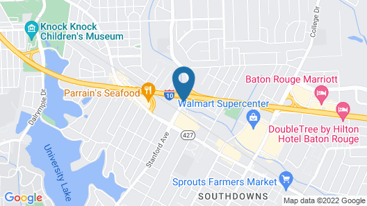 Courtyard by Marriott Baton Rouge Acadian Centre/LSU Area Map