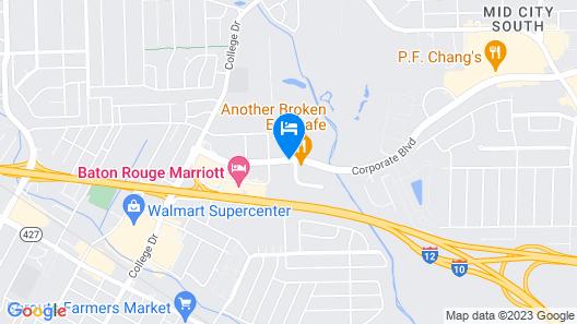 Homewood Suites by Hilton Baton Rouge Map