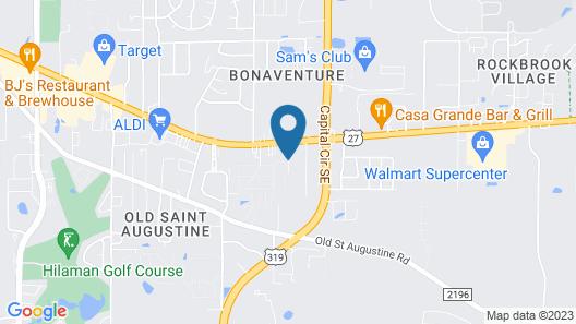 Hampton Inn Tallahassee-Central Map