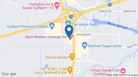 Holiday Inn Gulfport Airport, an IHG Hotel Map
