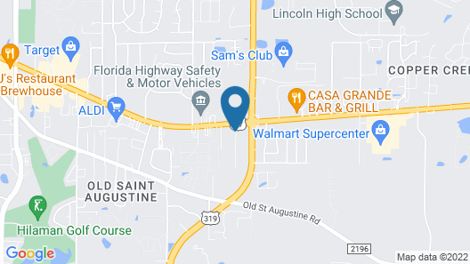 Fairfield Inn & Suites by Marriott Tallahassee Central Map