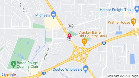 Holiday Inn Baton Rouge-South, an IHG Hotel Map
