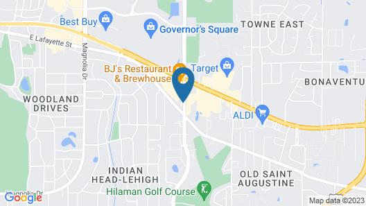 Hilton Garden Inn Tallahassee Central Map
