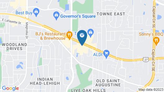 Holiday Inn Tallahassee E Capitol - Univ, an IHG Hotel Map
