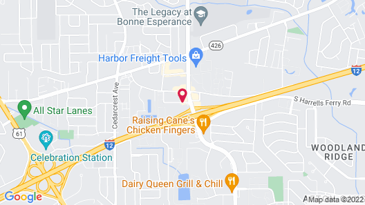 Red Roof Inn Baton Rouge Map