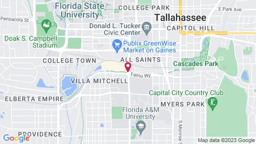 Hyatt House Tallahassee Capitol – University Map