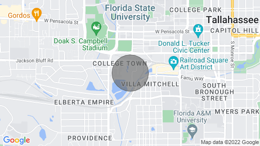 Walk to Doak Campbell in Minutes! Map