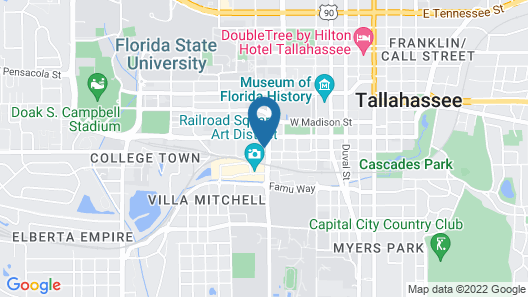 Hampton Inn & Suites Tallahassee Capitol-University Map