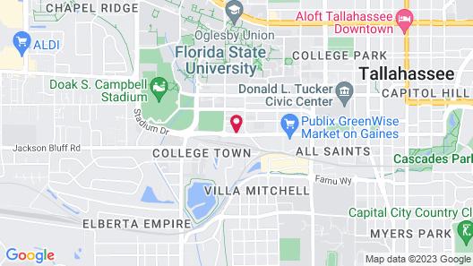 Hotel Indigo Tallahassee - College Town, an IHG Hotel Map