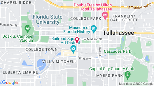 Residence Inn Tallahassee Universities at the Capitol Map