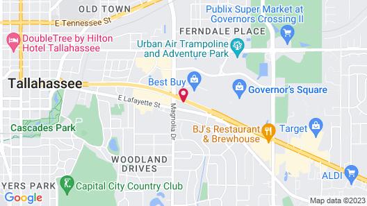 Wyndham Garden Tallahassee Capitol Map