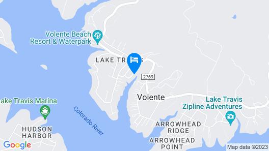 7621 Debbie Volente Home by RedAwning Map